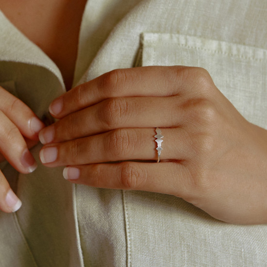 Voice Silhouette Ring